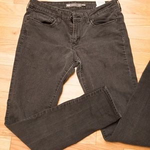 Black Levi's Jeans Slightly Curvy